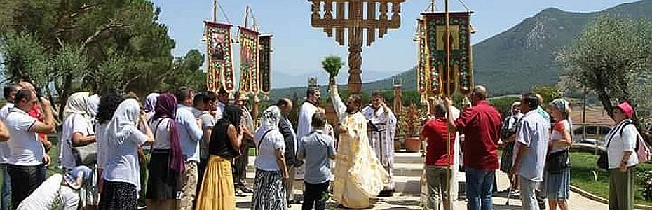Schitul Sfantul Ilie, Italia