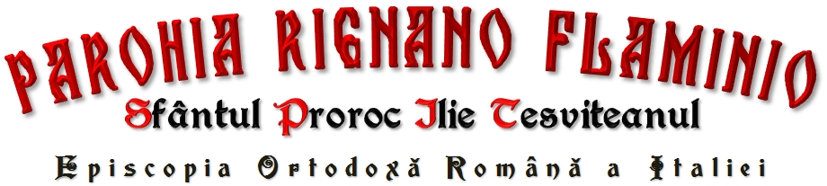 Parohia Rignano Flaminio – Sf. Ilie
