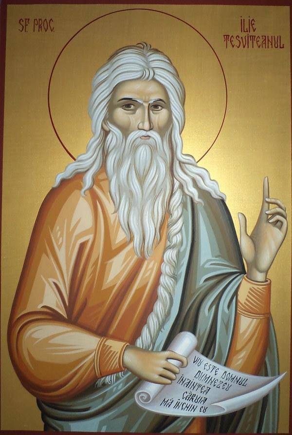 Troparul Sfântului Ilie Tesviteanul